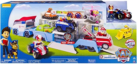 New Paw Patrol Paw Patroller Transporter Truck Hauler includes Ryder Playset by Unbranded