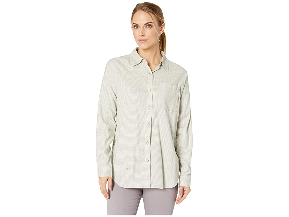 Mountain Hardwear Karseetm Long Sleeve Shirt (Green Fade) Women