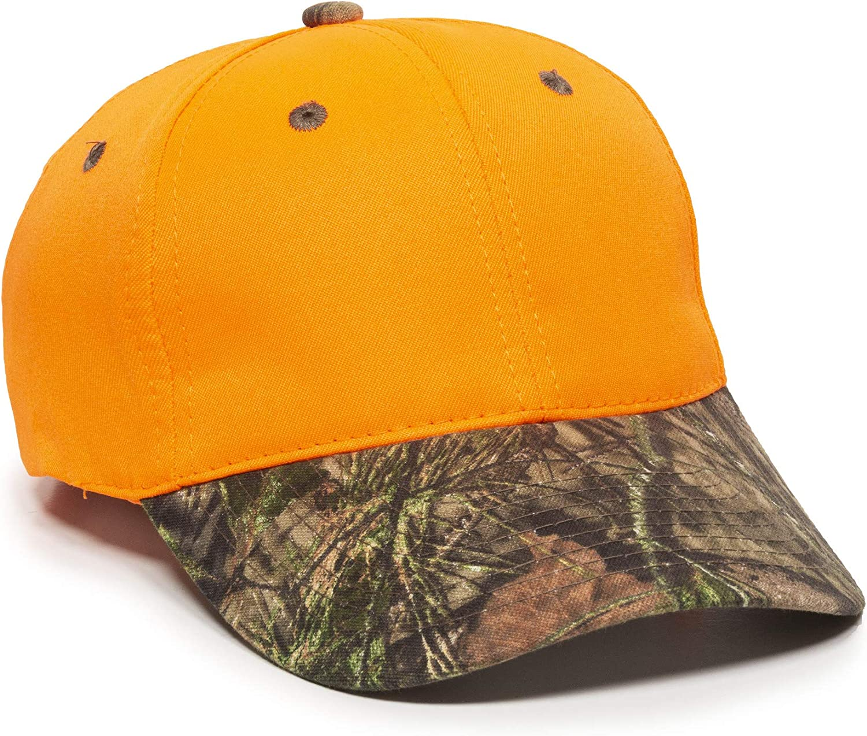 Outdoor Cap 202IS, Blaze/Mossy Oak Break-Up Country, One Size Fits Most