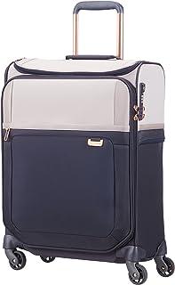 SAMSONITE Uplite - Spinner 55/20 Smart Top Bagage cabine, 55 cm, 41 liters, Bleu (Pearl/blue)