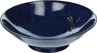 Happy Sales 3 Piece Dragonfly XL Serving Bowl, Blue