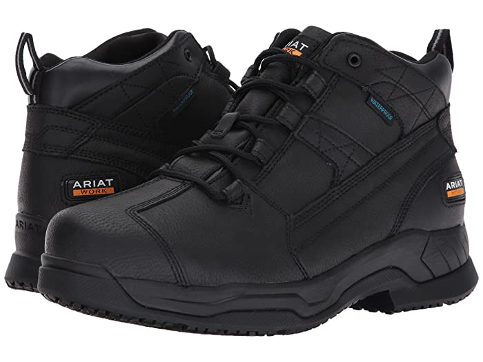 Ariat  Contender H2O (Matte Black) Mens Lace-up Boots