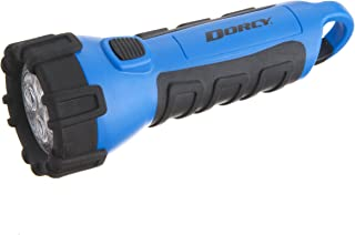 Dorcy 55 Lumen Floating Waterproof LED Flashlight with Carabineer Clip Dorcy, Blue (41-2514)