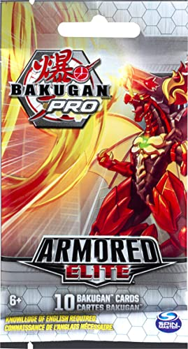 discount Bakugan Pro, Armored Elite Booster Pack sale with 10 Collectible online Trading Cards, for Ages 6 and Up online