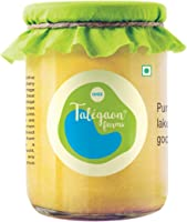 Talegaon Farms - Pure Cow Ghee - Vedic Bilona Method - Made traditionally from Curd - Premium Artisanal Ghee - 500 ml...