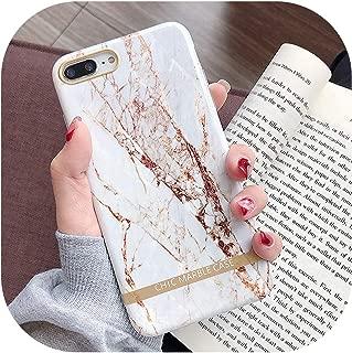 右店ファッション芸術的なgate大理石金の延べ棒電話ケースiphone XS XR XS Max 6 6S 7 8 Plus光沢のあるソフトシリコンケースバックカバー、iPhone 7、T2