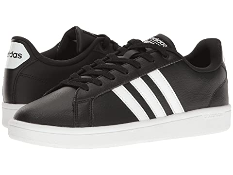 adidas advantage cloudfoam black