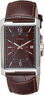 Titan Analog Brown Dial Men's Watch-NK1697SL02