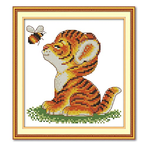 72-74844 Dimensions Needlecrafts Wits Counted Cross Stitch Kit by Dimensions-Queen Bee