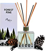 Manu Home Forest Pine Diffuser ~ The Scent of Pine with Cedar Wood, Patchouli and Thyme. Our Natural Reeds Produce a Light...