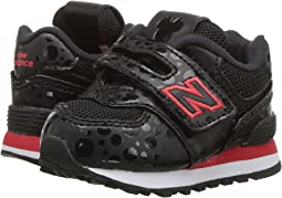 New Balance Kids - IV574v1 - Minnie Rocks the Dots (Infant/Toddler)