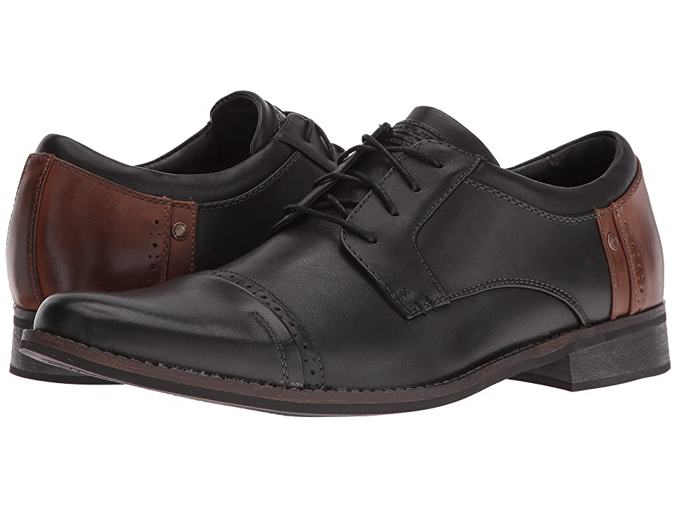 Mark Nason Brubeck (Black/Tan Leather) Men