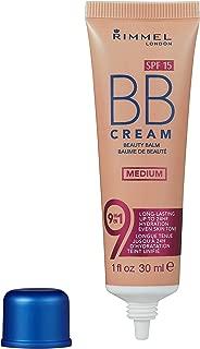 Rimmel London Match Perfection 9-in-1 Super Makeup BB Cream, Medium #002, 30 mL