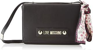 Love Moschino Borsa Natural Grain Pu, Tracolla Donna, 19x5x29 cm (W x H x L)