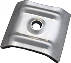 Kalotte Trapez voor golfplaten 70/18 en 76/18 100 stuks pak kalot aluminium blank met schuimrubber