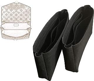 1 Pair of Pochette Metis Purse Insert (Type MT), Light Soft Sturdy, Organize Designers Bag, Keep Bag in Shape Fit GST Lockmeto Montaingne