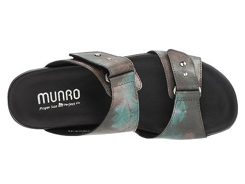 Cuero Leatherwhite Munro De Metal Negro Patentmixed Maclaine 15ZxqHnZEF