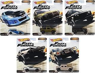 Hot Wheels 2019 Premium Fast & Furious Off-Road Set of 5