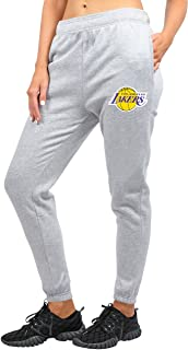 UNK NBA Women's Jogger Pants Active Basic Fleece Sweatpants