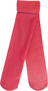 Country Kids Girls' Sparkly Glitter Christmas Holiday Party Tights, Pack of 1