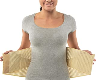 aHeal Cinturón Faja Lumbar Ortopédica para Corregir la Postura de la Espalda apto Hombre y Mujer | Soporte Lumbar Inferior para Aliviar el Dolor de Espalda y Prevención de Lesiones | Talla 5 Piel