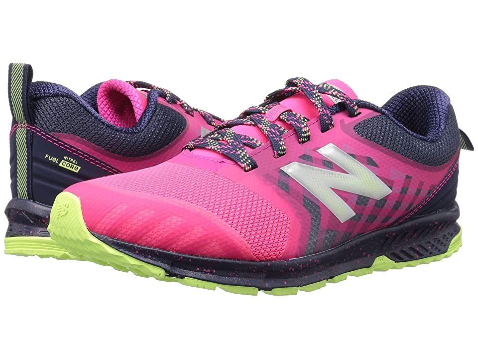 New Balance Kids FuelCore NITREL (Little Kid/Big Kid) (Pink/Grey) Girls Shoes