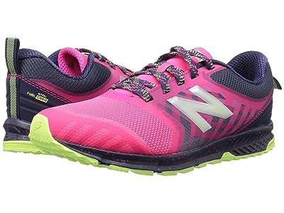 New Balance Kids FuelCore NITREL (Little Kid/Big Kid) (Pink/Grey) Girls Shoes