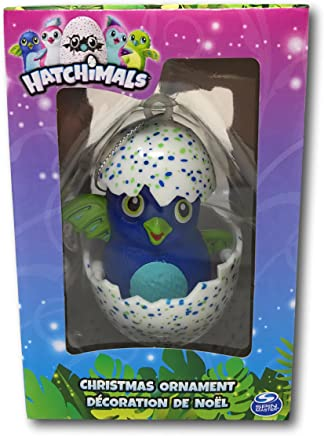 Hatchimals Blue and Green Draggle Christmas Ornament