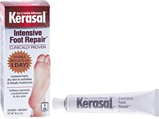Kerasal Intensive Foot Repair, Deeply Moisturizes - Visible results in just 1 day, 1 oz.