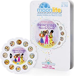 Moonlite - Princesses Save the World Story Reel for Moonlite Storybook Projector, for Ages 1 and Up