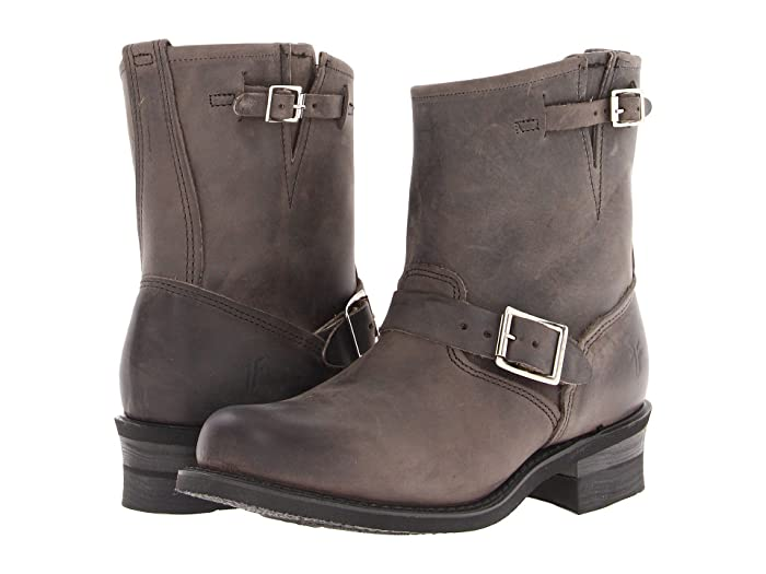 Frye  Engineer 8R (Charcoal Old Town) Womens Pull-on Boots