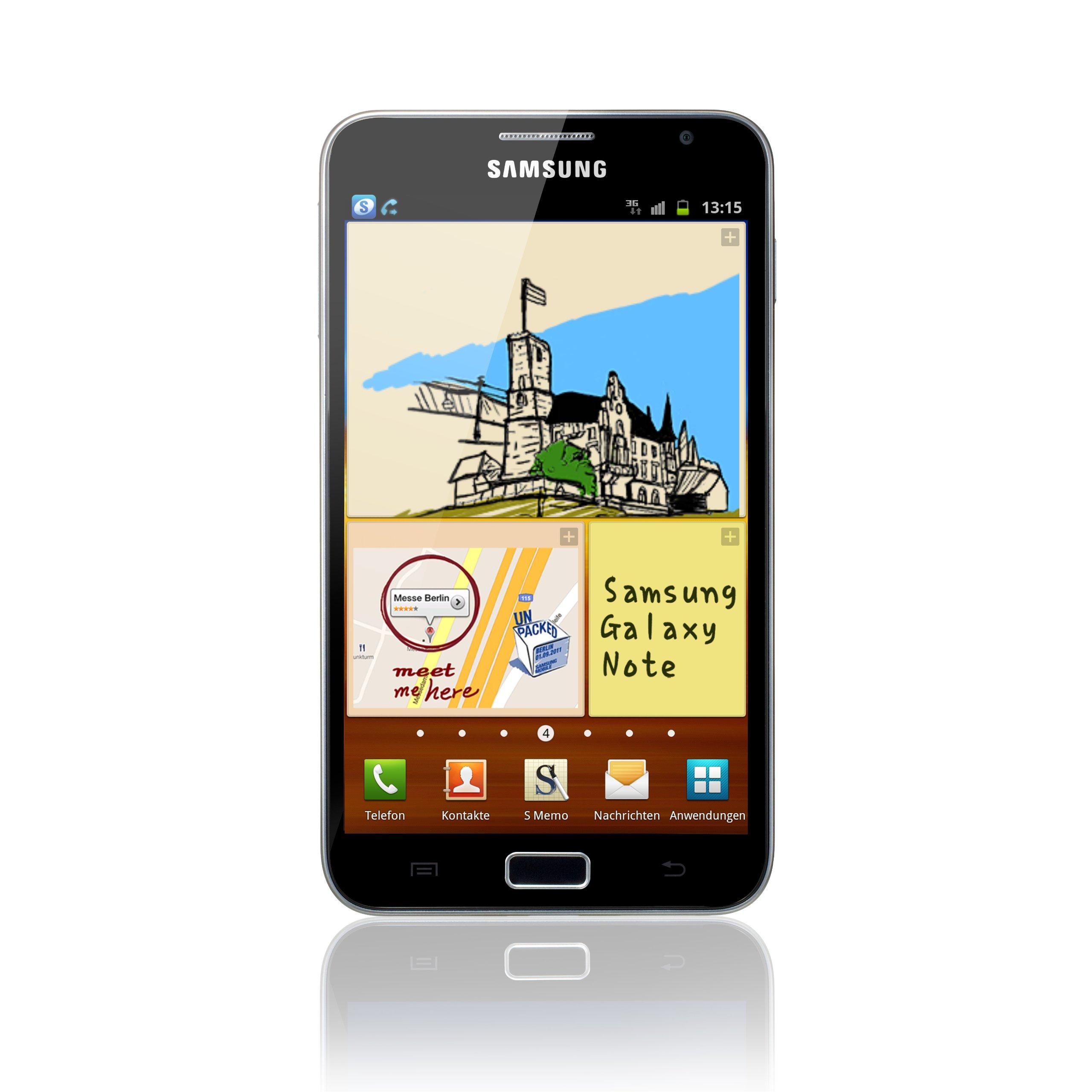 Samsung Galaxy Note (N7000) - Smartphone libre Android (pantalla ...