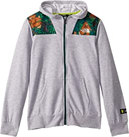 TNF Light Grey Heather/Botanical Garden Green Big Foot Adventure