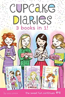 Cupcake Diaries 3 Books in 1! #4: Mia's Boiling Point; Emma, Smile and Say Cupcake!; Alexis Gets Frosted