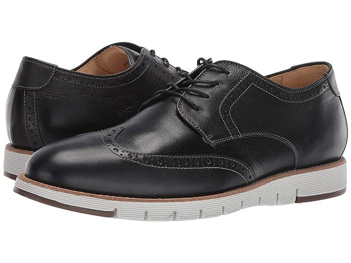 JandM EST. 1850  Martell Wingtip (Black) Mens Shoes