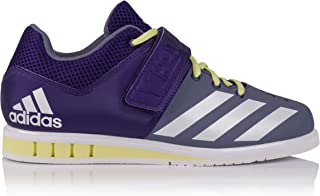 adidas Performance Womens Powerlift.3 Lace Up Weightlifting Trainers - Purple