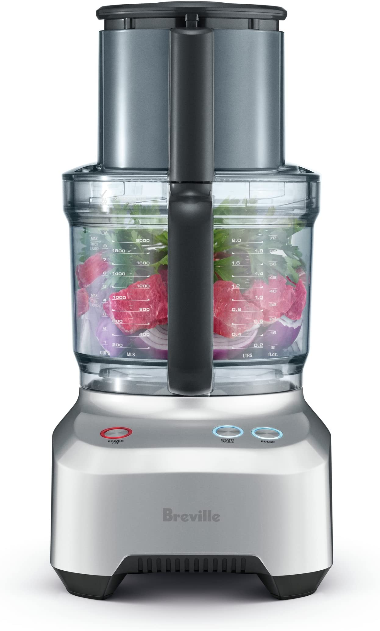 Breville BFP660SIL Sous Chef 12 Cup Food Processor, Silver