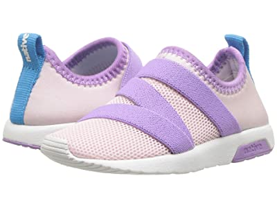 Native Kids Shoes Phoenix (Toddler/Little Kid) (Cold Pink/Lavender Purple/Shell White) Girls Shoes