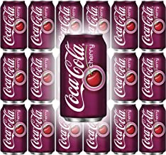 Coke Cherry Flavor, 12 Oz Can (Pack of 18, Total of 216 Fl Oz)