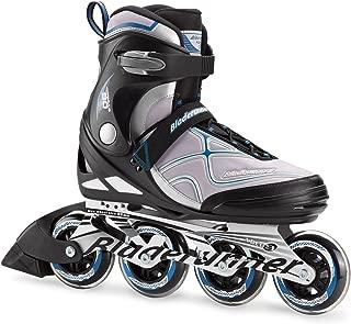 Bladerunner by Rollerblade Formula 90 Men's Adult Fitness Inline Skate, Black and Blue, Inline Skates
