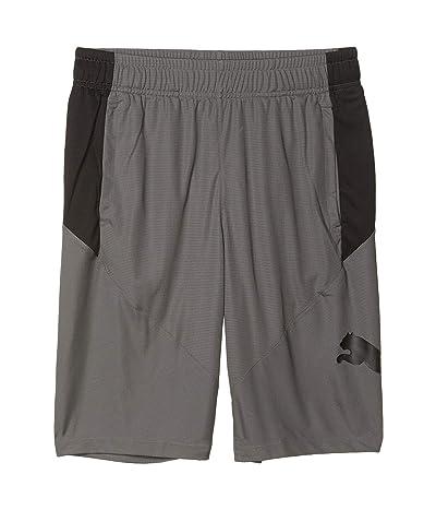 PUMA Cat Shorts (Castlerock/Puma Black) Men