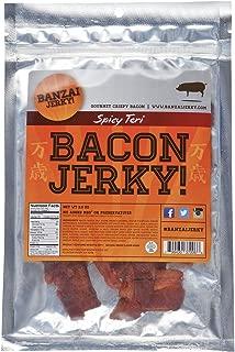 Spicy Teri Bacon Jerky