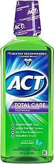 ph of act mouthwash