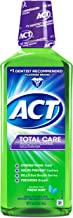 ACT Total Care Rinse Mouthwash Fresh Mint 18 Ounce Anticavity Fluoride Mouthwash Helps Support Tooth Strength and Oral Health to Help Prevent Tooth Decay and Cavities