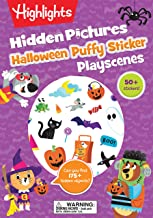 Halloween Hidden Pictures Puffy Sticker Playscenes (Highlights Puffy Sticker Playscenes)