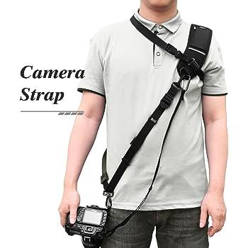 Correa para hombro de Cámara DSLR SLR Canon Nikon Sony Cinturón Sling Rápida Cámaras UK