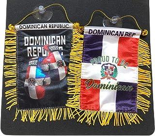 Republica Dominicana,Dominican Republic,Automobile Car SUV Pickup Truck Rearview Mirror Mini Dominican car Flag