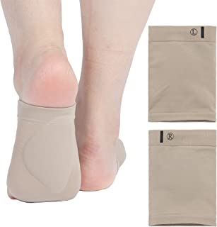 Arch Support Sleeve for Plantar Fasciitis Flat Feet Pain Relief - Upgraded Arch Support Pads Compression Socks for Women M...