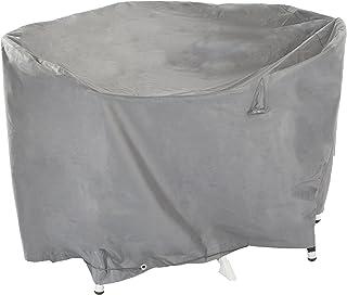 Ultranatura Gewebeschutzhülle für Gartenmöbel Sylt, robuste Abdeckung aus wasserdichtem Polyester, Durchmesser ca. 125 cm, Höhe ca. 94 cm