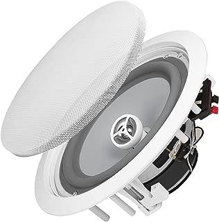 """OSD Audio 8"""" Weatherproof in-Ceiling Speakers, Set of 2 Perfect 120W Outdoor Indoor Mount ICE800WRS"""